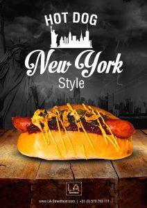Hot Dog NYC Style