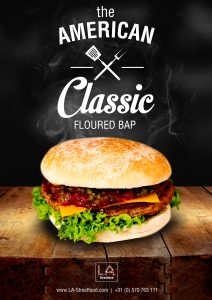 The American classic FLOURED BAP